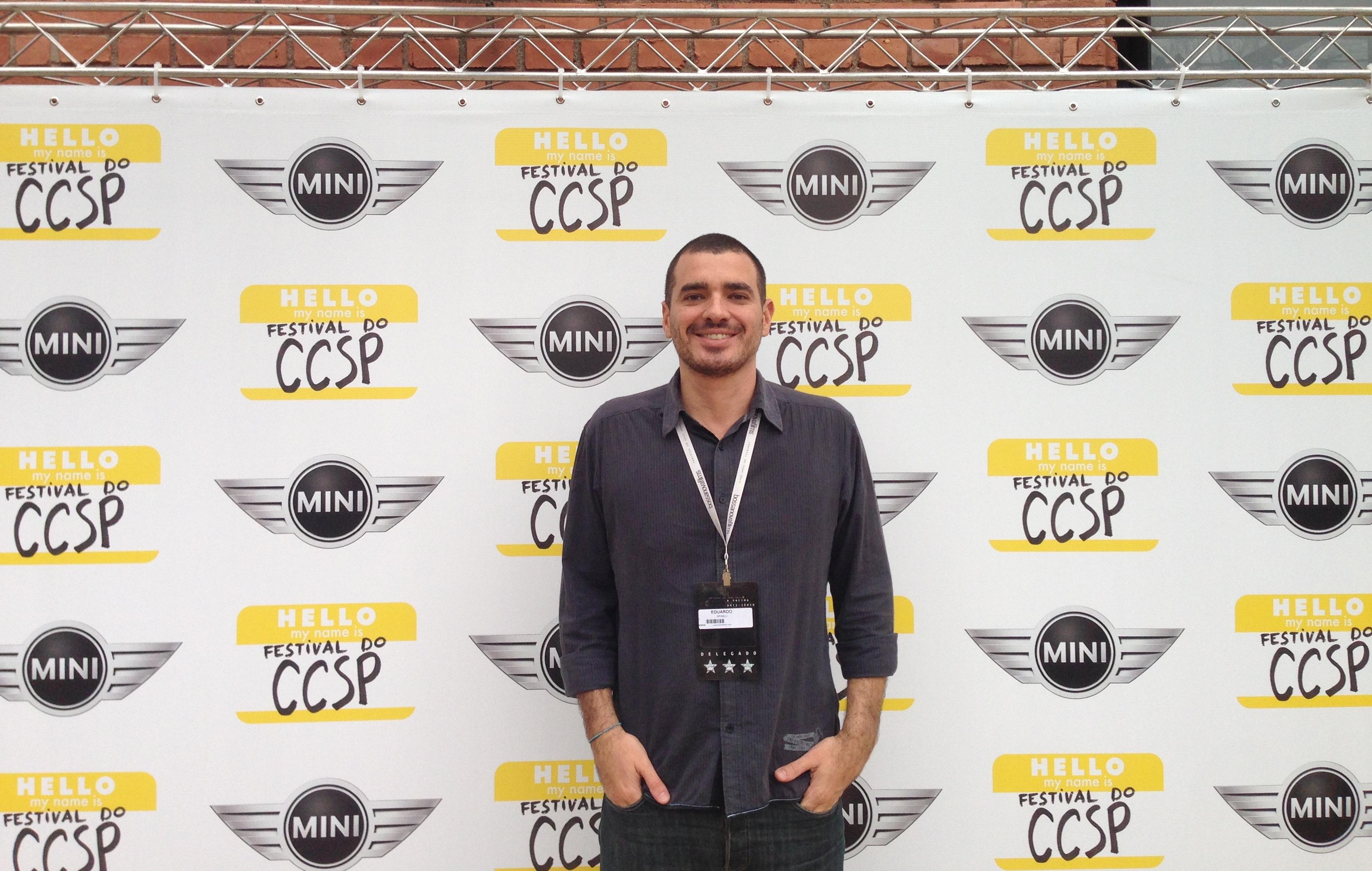 Eduardo Spinelli no Festival CCSP 2014'