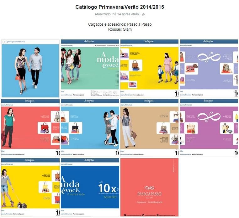 Catálogo digital Passo a Passo